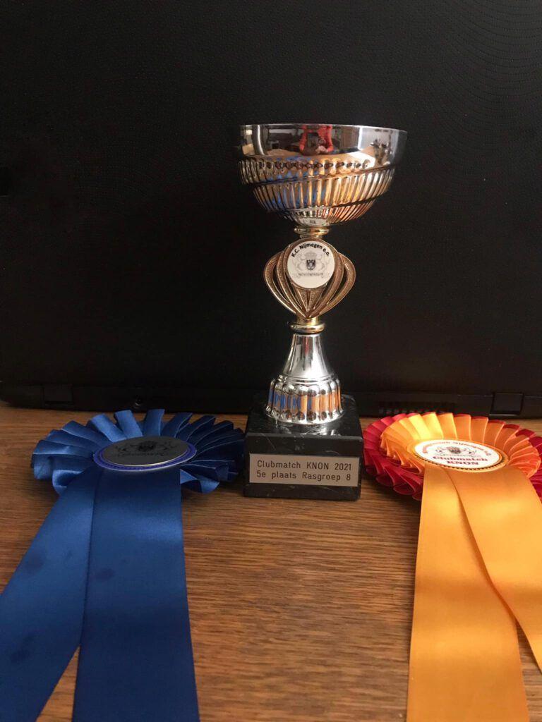 Aimy 5e prijs KC Nijmegen rasgroep 8
